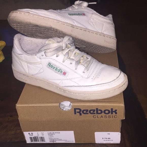 66f1239728f07 Reebok club C 85 vintage. M 5a3c89978df470561100ebad. Other Shoes ...